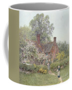 Cottage At Chiddingfold Coffee Mug by Helen Allingham
