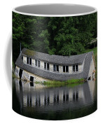 Cottage Sinking In The Rideau Canal Coffee Mug