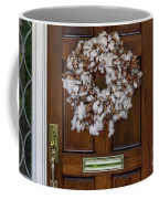 Cotton Wreath Coffee Mug