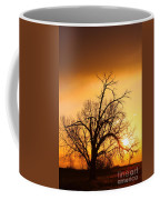 Cottonwood Sunrise - Vertical Print Coffee Mug