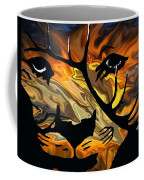 Cougar Elk   -015 Coffee Mug