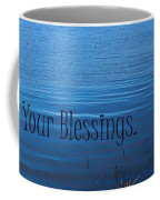 Count Your Blessings Coffee Mug