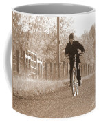 Country Boy And His Bike Coffee Mug