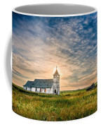 Country Church Sunrise Coffee Mug