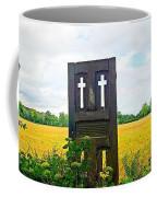 Country Crosses Coffee Mug