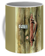 Country Door Lock Coffee Mug by Sam Sidders