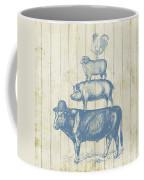 Country Farm Friends Coffee Mug