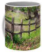 Country Fence Coffee Mug