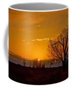 Country Golden Sunrise Coffee Mug