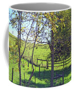 Country Green Coffee Mug