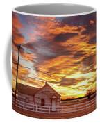Country House Sunset Longmont Colorado Boulder County Coffee Mug