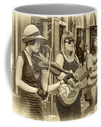 Country In The French Quarter 3 Sepia Coffee Mug