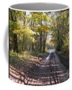 Country Lane In Autumn 2 Coffee Mug