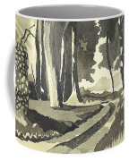 Country Lane In Evening Shadow Coffee Mug