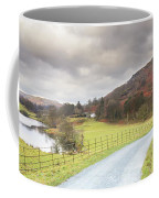 Country Lane In The Lakes Coffee Mug