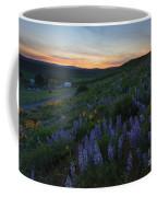 Country Meadow Sunset Coffee Mug