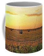 Country Pasture At Sunset Coffee Mug