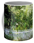 Country Picket Fence Coffee Mug