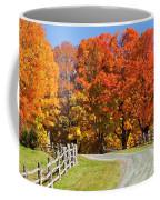 Country Road Autumn Coffee Mug