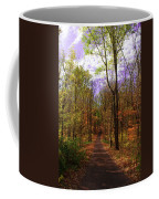 Country Road In Autumn Coffee Mug