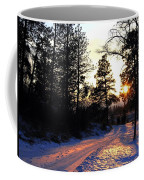 Country Road Sunset Coffee Mug