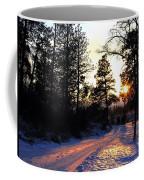 Country Road Sunset Coffee Mug