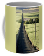 Country Road, Wheat Fields Coffee Mug