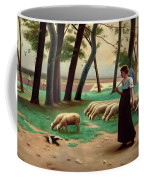 Country Shepherdess  Coffee Mug
