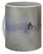 Country Snow Coffee Mug