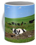 Countryside Cows Coffee Mug