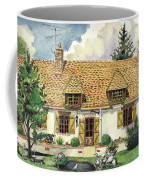 Countryside House In France Coffee Mug