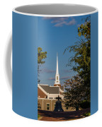 County Courthouse Bell And Church Spire Coffee Mug