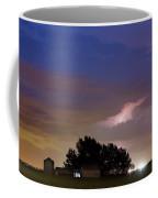 County Line 1 Northern Colorado Lightning Storm Coffee Mug by James BO  Insogna