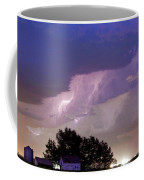 County Line Northern Colorado Lightning Storm Cropped Coffee Mug