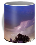 County Line Northern Colorado Lightning Storm Coffee Mug