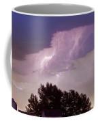 County Line Northern Colorado Lightning Storm Panorama Coffee Mug by James BO  Insogna