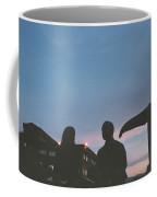 Couple And Cetacean Coffee Mug