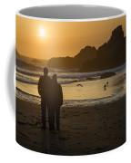 Couple At Harris Beach 0197 Coffee Mug