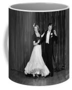 Couple Ballroom Dancing On Stage Coffee Mug