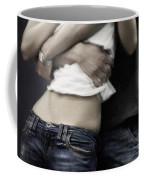 Couple In Jeans Coffee Mug