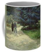 Couple In The Park Coffee Mug