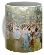 Court Ball At The Hofburg Coffee Mug by Wilhelm Gause