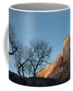 Court Of The Patriarchs Sunrise Zion National Park Coffee Mug