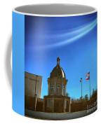 Courthouse And Flags Coffee Mug