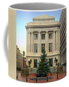 Courthouse At Christmas Coffee Mug