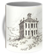 Courthouse Belmont Ghost Town Nevada Coffee Mug
