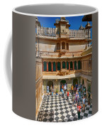 Courtyard, City Palace, Udaipur Coffee Mug
