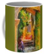 Courtyard In Cavtat Coffee Mug