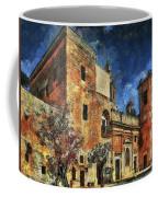 Courtyard, Mellieha, Malta Coffee Mug