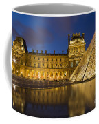 Courtyard Musee Du Louvre - Paris Coffee Mug